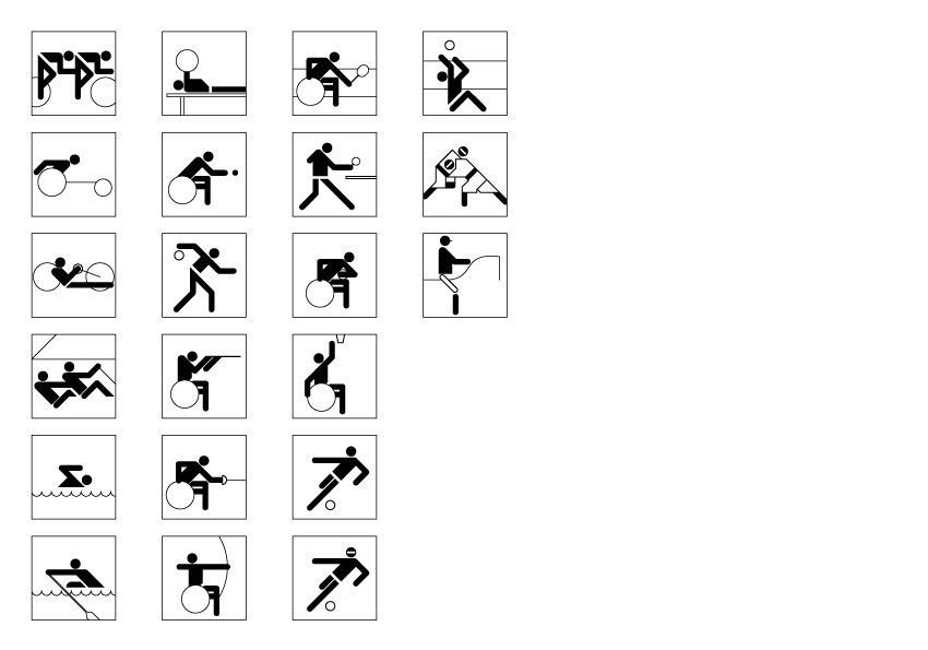 Main Paralympic sports for 2012